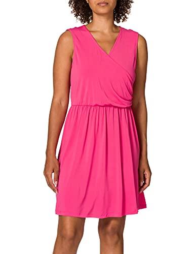 VERO MODA Damen Vmhaidy Sl Short Dress JRS Kleid, Honeysuckle, M