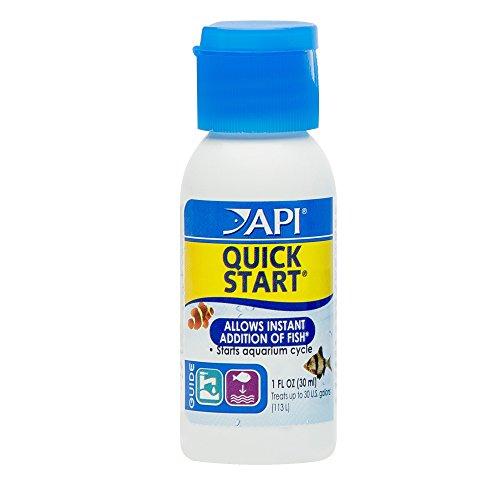 API QUICK START Freshwater and Saltwater Aquarium Nitrifying Bacteria 30 ml Bottle