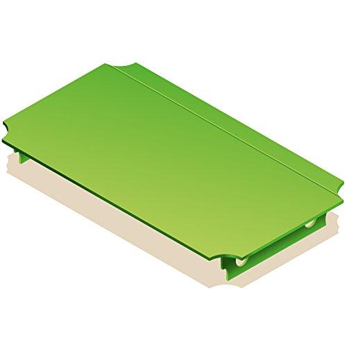 Quadro Platte 40x20 cm grün