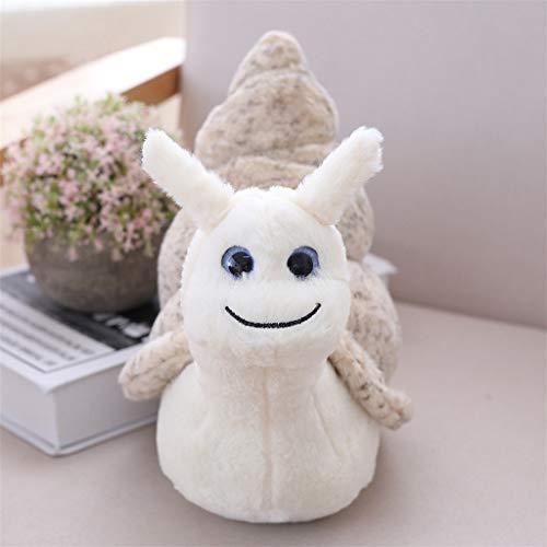 Kawaii Caracoles Juguete de peluche suave y encantador juguete de peluche de 8 pulgadas, regalo creativo de juguete de peluche para niños, adorable muñeca de almohada de acompañante de cabecera