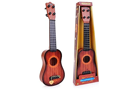 MM RETAILS Classical Series Guitar Musical Instrument for Beginners Kids Small , 4 String Guitar Toy for Kids, Small Toy for Kids