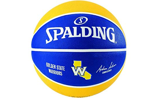 Spalding NBA Team Golden State Ball 83587Z 83587Z_5 - Balón de Baloncesto Unisex, Color Azul, Talla 5 EU