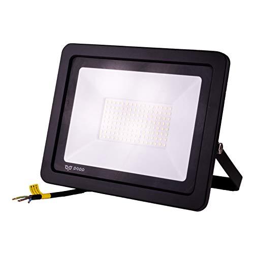 POPP® Foco Proyector LED 100W para uso Exterior Iluminación...
