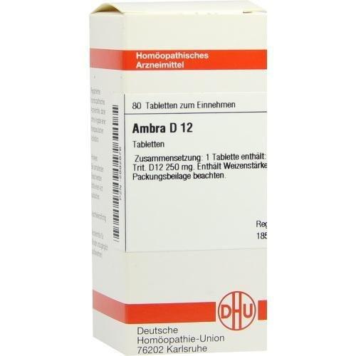 AMBRA D12 80St Tabletten PZN:2892876