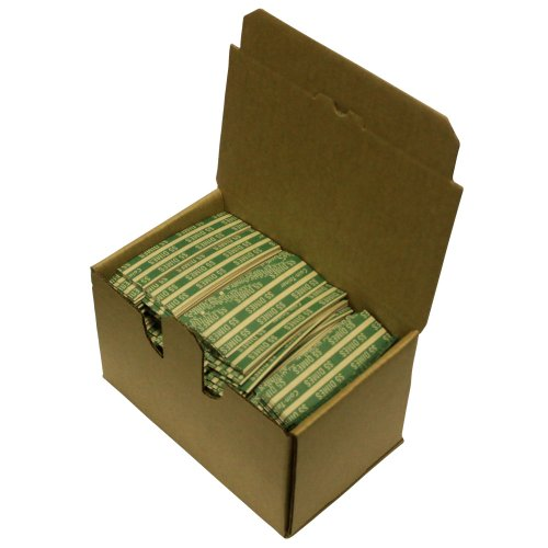 The Coin-Tainer Co. Flat Coin Wrappers, Dime, 1000 Count (30010)
