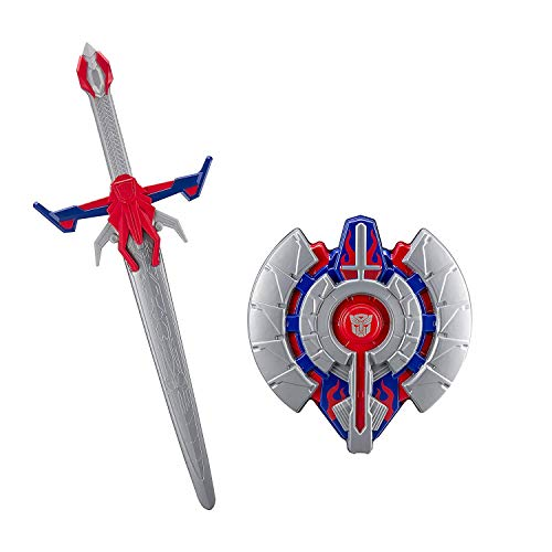 Optimus Prime Transformers The Last Knight Movie Battle Sword with sound effects and Shield for solid defense, sword and shield pack