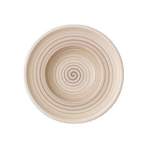 Villeroy & Boch Artesano Nature Beige Assiette creuse, 25 cm, Porcelaine Premium, Beige