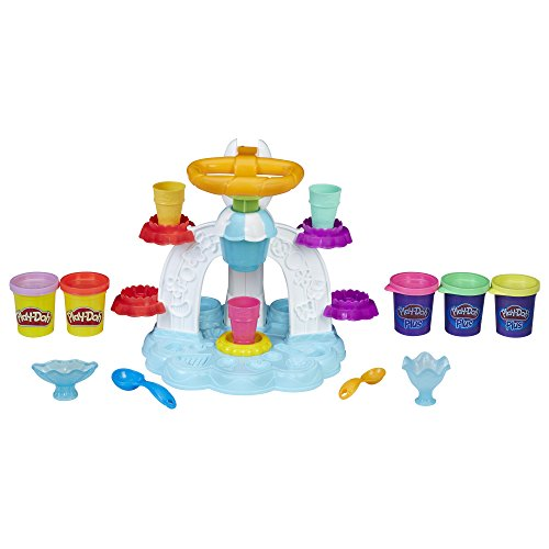 Play-Doh Kitchen Creations Swirl 'N Scoop Ice Cream, Ages 3 Years and Up