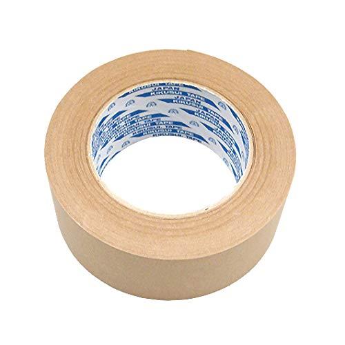 菊水 クラフトテープ 幅50mm×長さ50m巻 5個セット (ガムテープ 粘着テープ 梱包テープ 梱包用テープ)