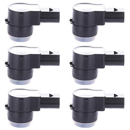 Aintier Parking Sensor Reverse Bumper Parking Assist PDC Sensor Replacement for 2007-2012 Silverado 1500,2007-2011 Escalade/Avalanche/Silverado 2500 HD/Silverado 3500 HD/Suburban 1500 (6pcs)