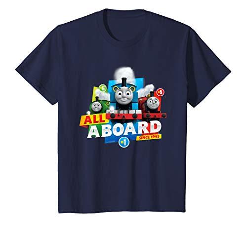 Kinder Thomas T-Shirt, All Aboard, viele Größen+Farben