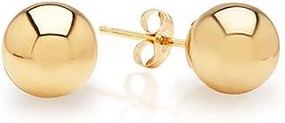 Best gold ball earrings 14k Reviews