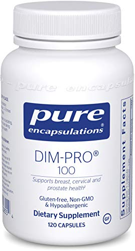 Pure Encapsulations - DIMPRO 100 - Dietary Supplement with BioResponse DIM - 120 Capsules