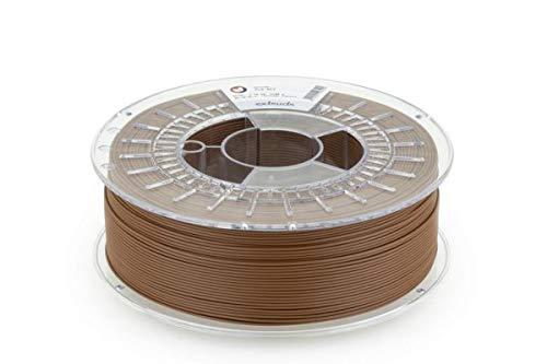 extrudr® PLA NX2 MATT ø1.75mm (1.1kg) 'SCHOKO BRAUN MATT' (RAL9006) - 3D Drucker Filament - Made in Austria - höchste Qualität zum fairen Preis!