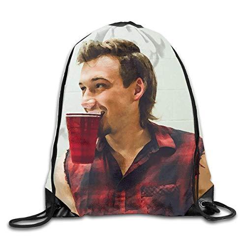 Hdadwy Morgan wallenn Backpack Drawstring Day Bags Sport Gym Sack