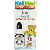 NeilMed Sinus Rinse Pediatric Starter Kit- 30 Packets...