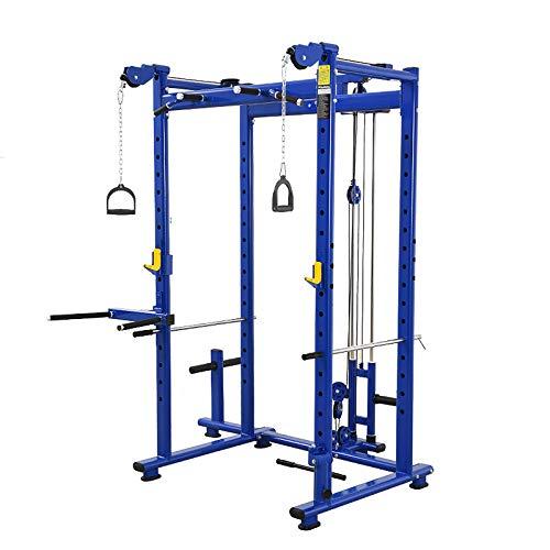 novi Power Rack, Comprehensive Home Power Rack Cage Regolabile Attrezzatura per Il Fitness...
