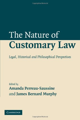 Compare Textbook Prices for The Nature of Customary Law: Legal, Historical and Philosophical Perspectives 1 Edition ISBN 9780521115568 by Perreau-Saussine, Amanda