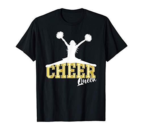 Cheer Queen Cheerleader disfraz Cheerleading Regalo Camiseta