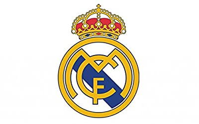 "Real Madrid Football Futbol Soccer Edible Cake Topper Decoration (8"" Round)"