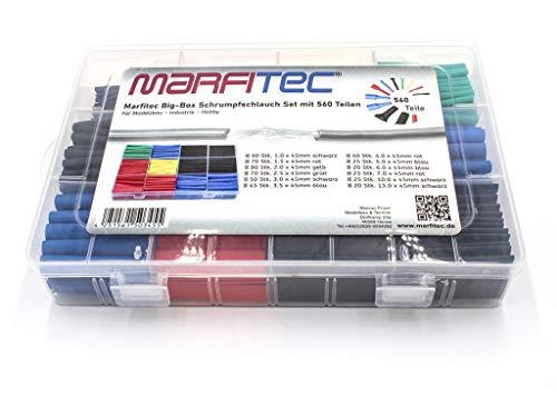marfitec© Schrumpfschlauch Big Box 560 TLG. Modellbau