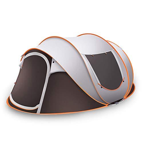 Tent 5-8 Personen Waterdicht, Pop-Up Tenten Familietent Enorme Campingtent Dubbelwandige Werptent Onderdak Met Voortent Voor Buitensporten Picknick Wandelen Reizen Strand