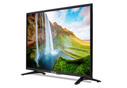 Sceptre 32 inch LED 720p HDTV 3X HDMI MHL ASTC/QAM, Metal Black 2019 (X328BV-SR)