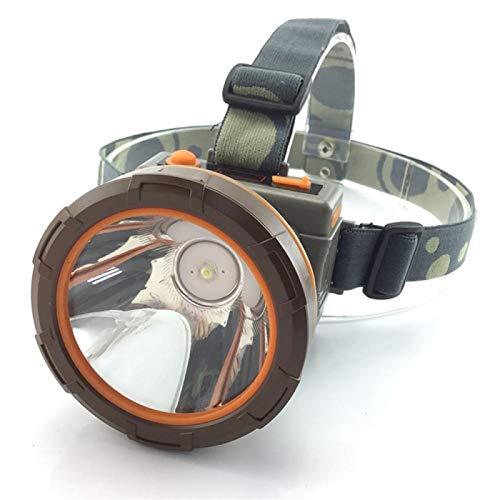 Zyuan Torch de Cabeza Luz De Cabeza Portátil LED Linterna Linterna Lámpara Recargable Batería Pesca Camping Luces Corriendo For Los Corredores Faro ShanDD (Color : B)