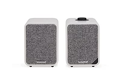 Ruark Audio MR1 MKII Bluetooth Active Speakers Soft Grey by Ruark Audio