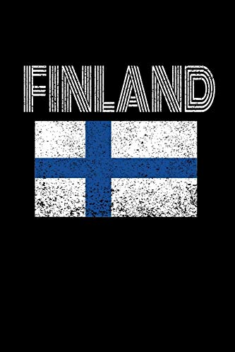 Finland: Finland Blank Lined Travel Journal. Pretty Lined Notebook & Diary For Writing And Note Taking For Travelers.(120 Blank Lined Pages - 6x9 Inches)