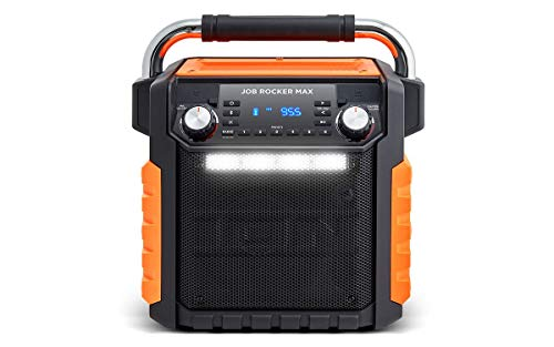 Ion Audio Job Rocker Max Bluetooth Speaker, Orange (Renewed)