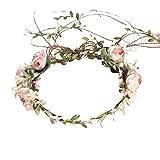 My cat - Corona de corona de flores artificiales ajustable para mujer, accesorio para mujer, diseño de flores