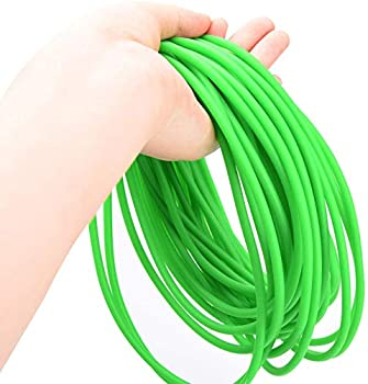 Latex Rubber Tubing Slingshot Catapult Elastic Parts/Speargun Rubber for Outdoor Hunting Physical Therap 1.7mm I.D x 4.5mm O.D 32.8FT/10M Surgical Tubing Rubber Hose ONE Continuous Piece