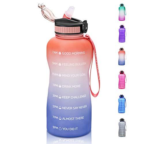 MYFOREST Wasserflasche BPA-Frei, 2 Litre...