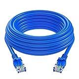 HappyL Productos eléctricos Cable CAT6 Ethernet Cable RJ45 1000 Mbps Patch de Redes Cable de Plomo 5M / 10M / 20M / 30M / 40M (Color : 20M)