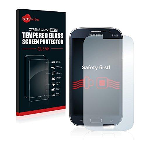 savvies Pellicola Vetro Temperato Compatibile con Samsung Galaxy Grand Neo Plus Protezione Protettivo Schermo Glass Durezza 9H