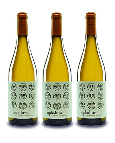 Paco & Lola Ophalum, Vino Blanco - 3 botellas de 75 cl, Total: 2250 ml