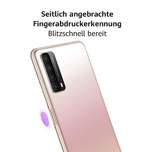 HUAWEI P smart 2021 Dual SIM Smartphone (16,94 cm - 6,67 Zoll, 128 GB interner Speicher, 4 GB RAM, Android 10 AOSP ohne Google Play Store, EMUI 10.1) crush green + 5 EUR Amazon Gutschein - 5