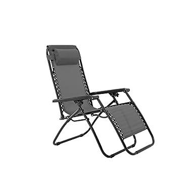 Sunjoy Zero Gravity Chair-Grey