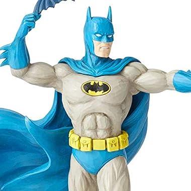 Enesco DC Comics Justice League by Jim Shore Batman Silver Age Figurine, 8.75 Inch, Multicolor