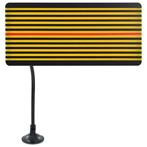 vidaXL LED Reflektor mit Verstellbarer Halterung LED Board USB Ausbeulwerkzeug Ausbeulreflektor Ausbeulschild Dellen Hagel Reparatur Set Linien-Panel