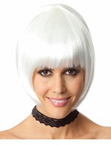 ahom (perruque Noble Hot Vendre Factory de couleur Blanc perruque bobo style Tête est Euramerican Hot Style