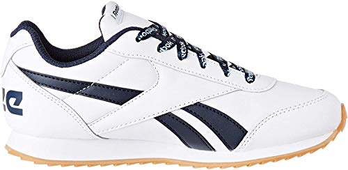 Reebok Royal Cljog 2, Scarpe da Trail Running Uomo, Multicolore (White/Collegiate Navy 000), 39 EU