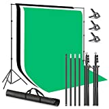 Neewer Support de Fond Photo Studio 2,6x3m avec Fonds Polyster...
