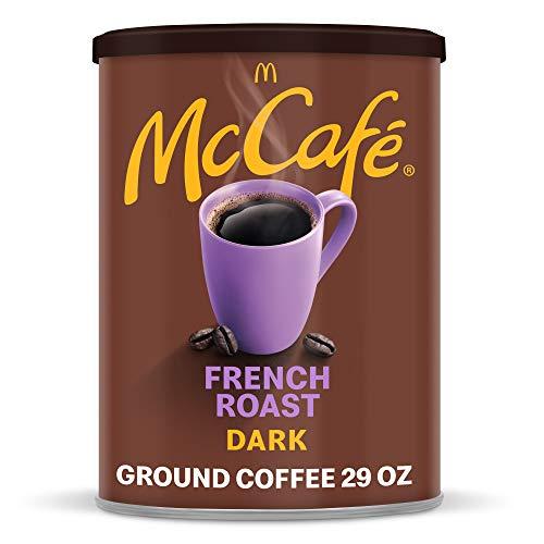 McCafe Dark Roast Ground Coffee, Canister, French Roast 29 Ounce