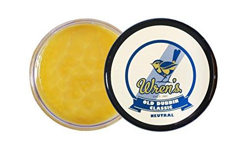 Lederfett Wren's Old Dubbin Classic, Klassische Fettpaste zum Imprägnieren und Pflegen von glattem, genarbtem und geöltem Leder, Qualität und Prestige seit 1889, geeignet, 200 ml