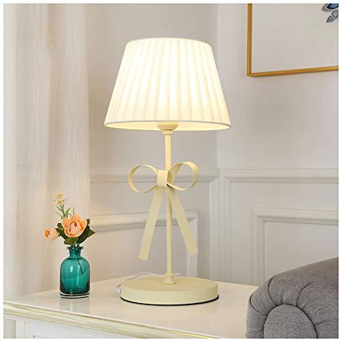 ATRNA staande lamp, exquise metaal met stoffen lampenkap tafellampen woonkamer slaapkamer nachtkastje bar kantoor decoratie licht bureau geel