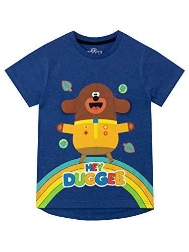 Hey Duggee Camiseta de Manga Corta para niños Club de Las Ardillas Azul 2-3 Años