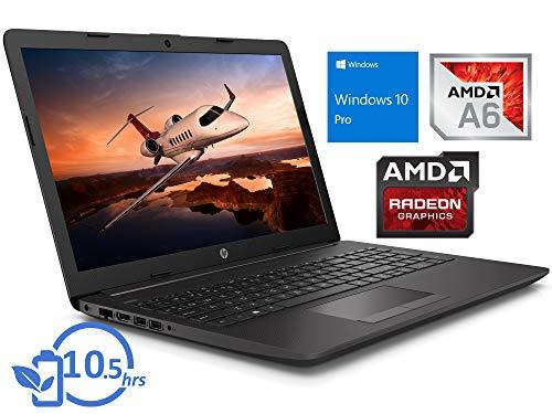 HP 255 G7 Laptop, 15.6' FHD Display, AMD A6-9225 Upto 3.0GHz, 8GB RAM, 256GB SSD, HDMI, Card Reader, Wi-Fi, Bluetooth, Windows 10 Pro