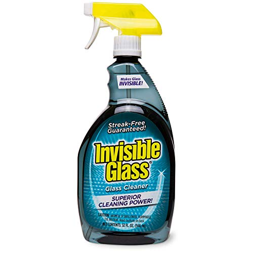 Invisible Glass 92194 32-Ounce Cleaner and Window Spray for Home and Auto for a Streak-Free Shine Film-Free Glass Cleaner and Safe for Tinted and Non-Tinted Windows and Windshield Film Remover